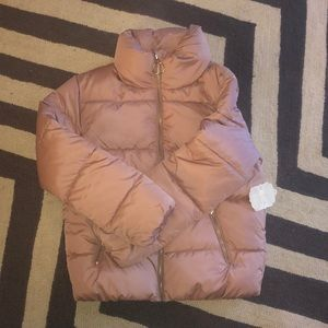 Altar'd state puffer jacket Dusty Rose XS